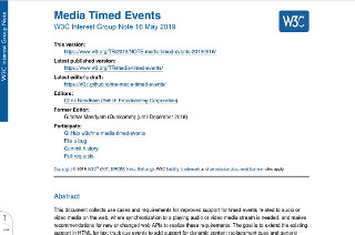 Media Timed Events IG Note